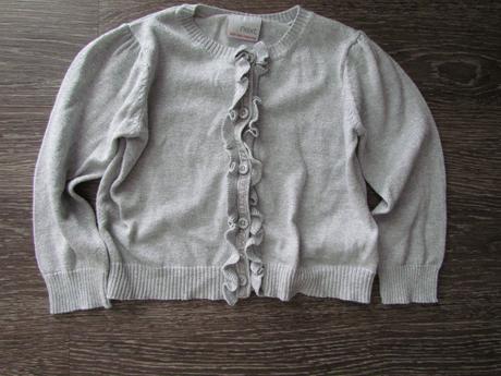 stříbrný svetr Next vel. 98, 98