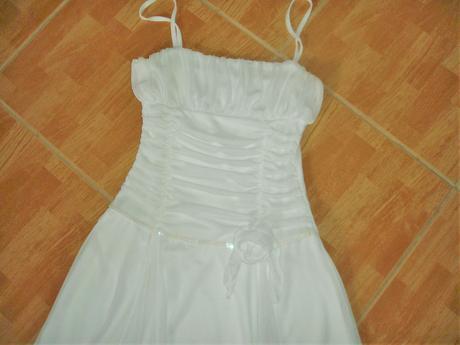 Snehobiele šaty-Tammy, 146