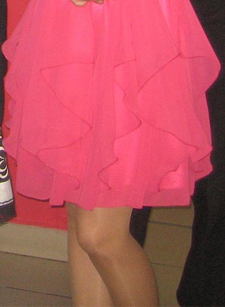 Spoločenské cyklámenové šaty - AD STYLE, 36