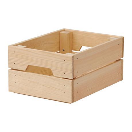 Dřevěná bedýnka,