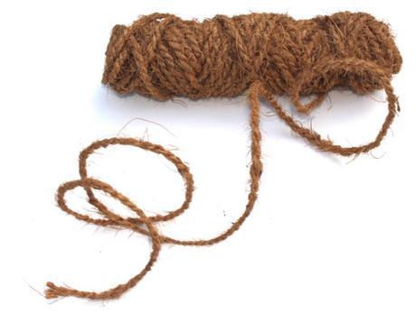 Kokosové lano 2x 15m, v orig. obalu,