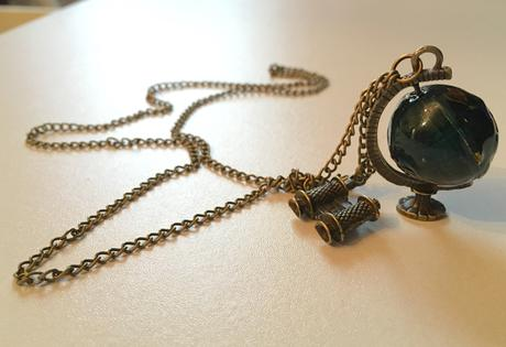 Sada -  kompas, hodinky, globus,