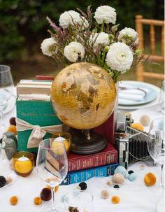 Zachovalý historický (sběratelský) globus,