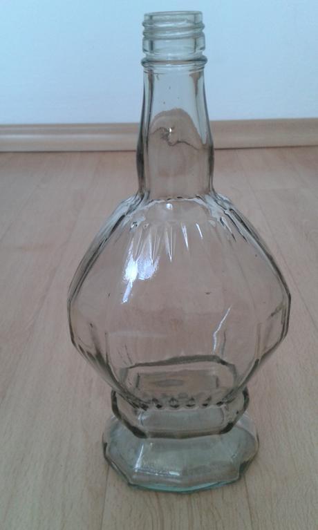 skenená fľaša,
