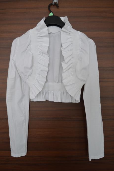 Bolerko bílé L - XL,