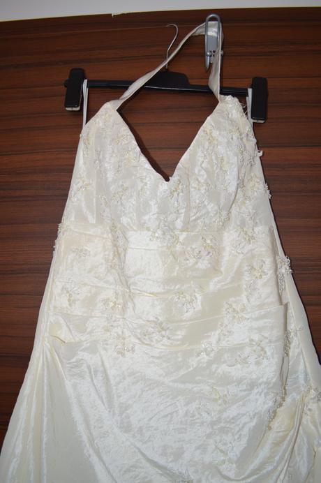 Svatební šaty barva ivory, velikost 40 - 44, 40