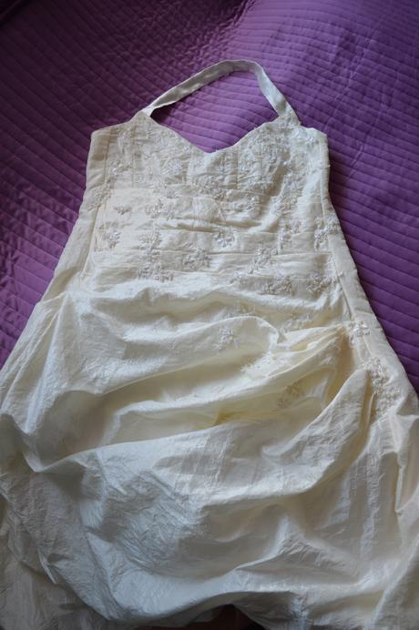 Svatební šaty barva ivory, velikost 44, 40