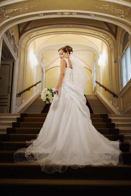 Svadobne šaty velkost 36-40, 38