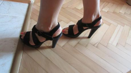 topánky na platforme, 38