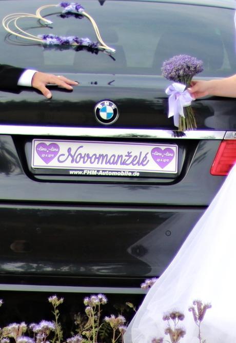 Svatební SPZ,