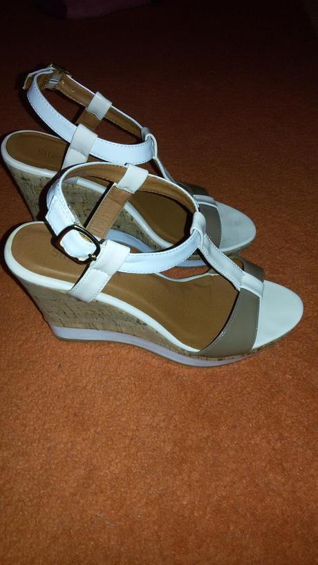 Sandálky na platforme ALTERO, 37