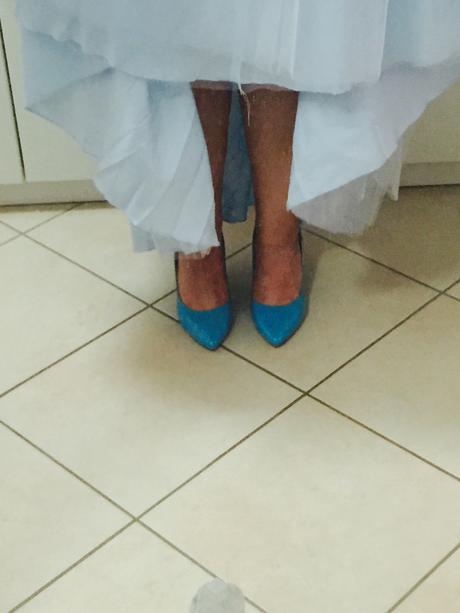 Lodičky Baťa modré, 39