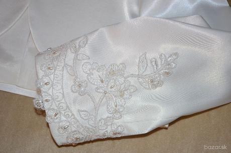 Čipkované svadobné šaty, 38