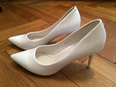 Svatební bílé boty 37-38, 38