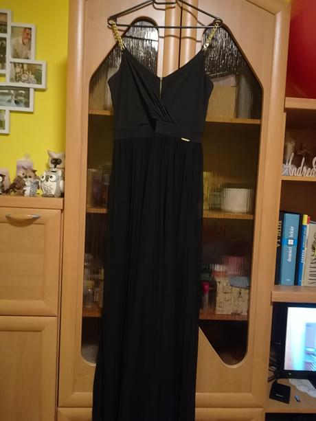 Čierne Sugarbird šaty, 40