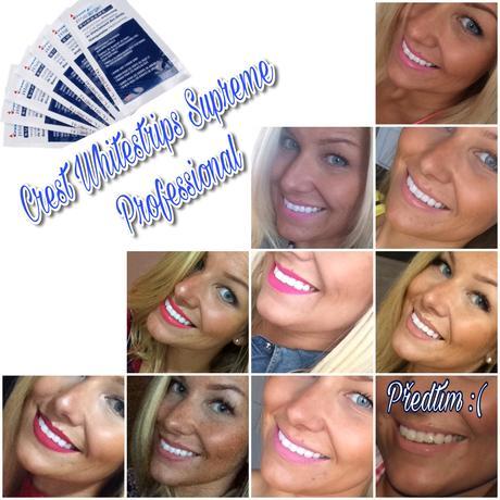 Bělicí pásky Crest WhitestripsSupreme Professional,
