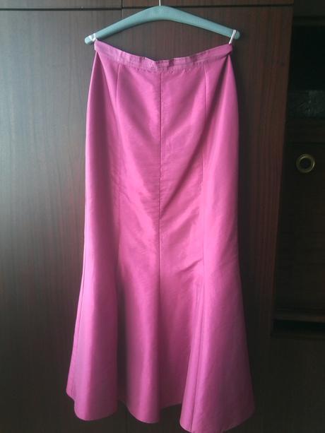 fialková  sukňa, 42