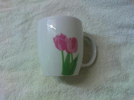 hrnček tulipán,