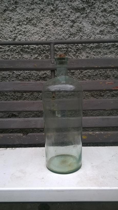 retro fľaša,