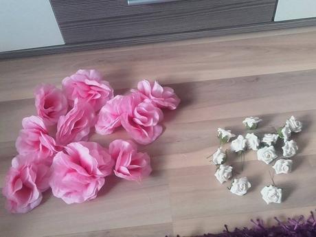umele ruže,
