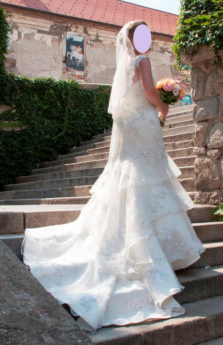 Svadobné šaty zn. Maggie Sottero, 38