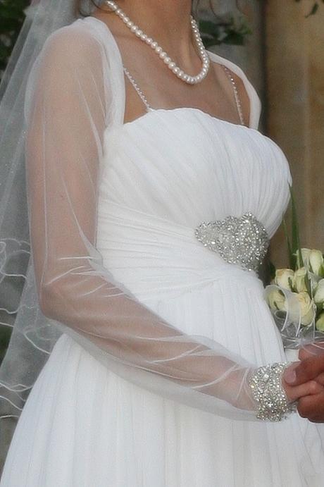Unikátní svatební šaty 34-36, 35