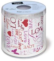 Svadobný toaletný papier - veľa druhov,