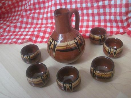 bulharská keramika,