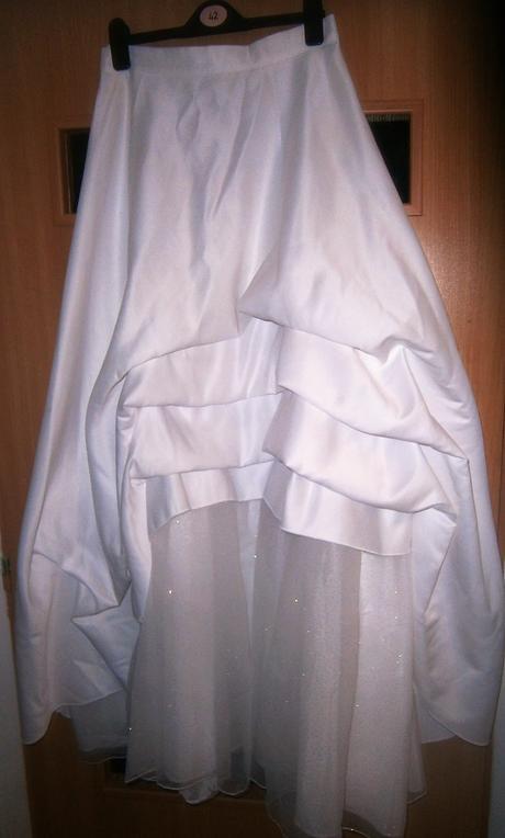 bílé šaty 40, 42