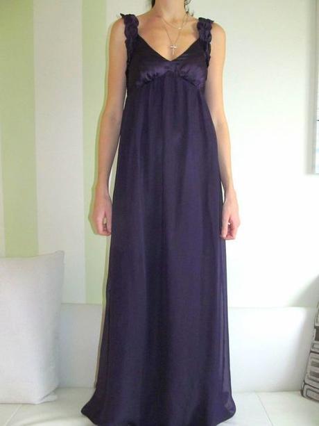 dlouhé šaty vel.34, 36