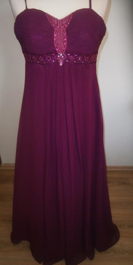 dlouhé šaty vel., 40