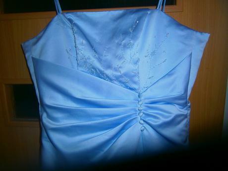 fialkové šaty vel.42, 44
