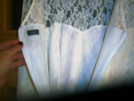 krajkové šaty  F&F vel., 46