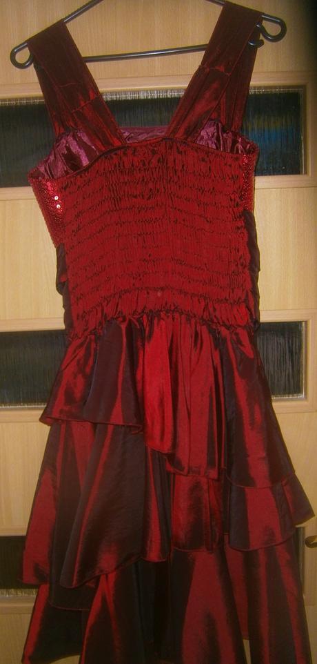 vínové šaty vel., 40