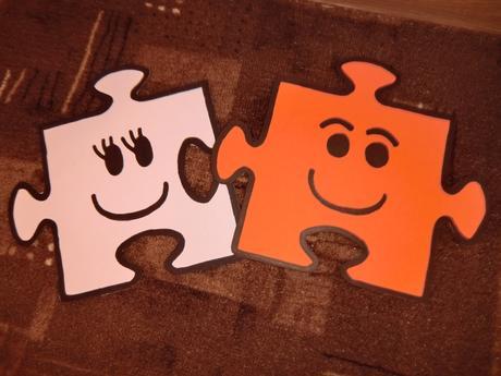 Puzzle figurky,
