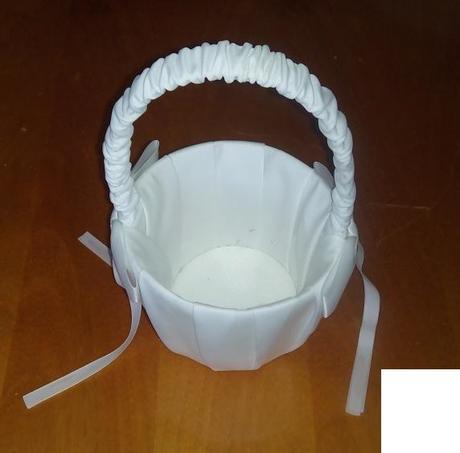 Svatební košíček pro družičku,