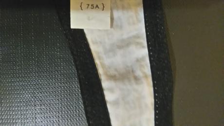 černobílá podprsenka , 75A