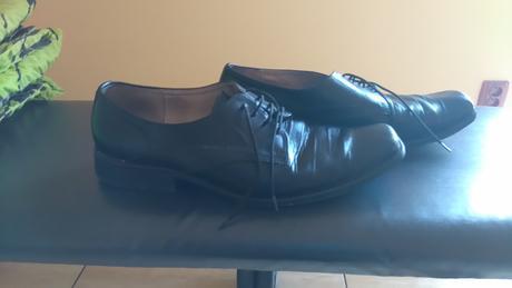 Pánské černé boty, 42