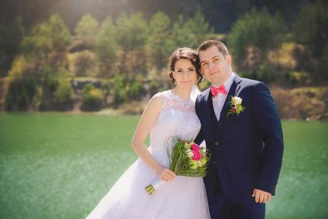 Ponúkam na predaj svoje svadobné šaty, vel. 36-38, 36
