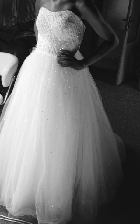 Princeznovské svatební šaty vel. 36-40, 38