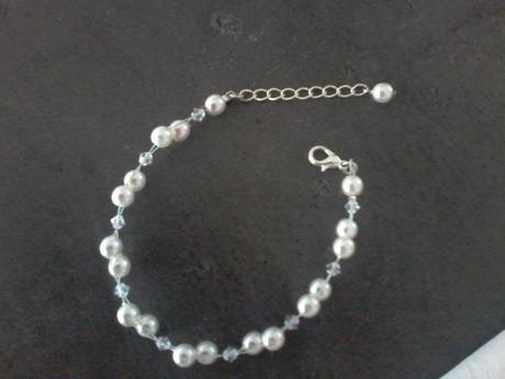 svatební souprava - náramek, náhrdelník, naušnice,