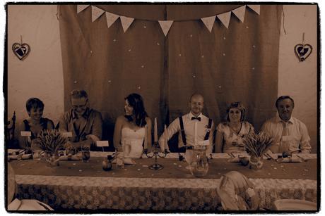 svatební dekorace na stůl,