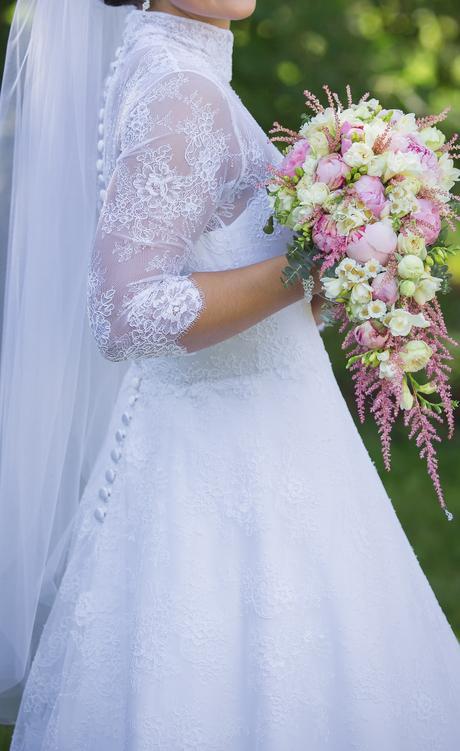 Svadobné šaty v štýle Vintage, 38