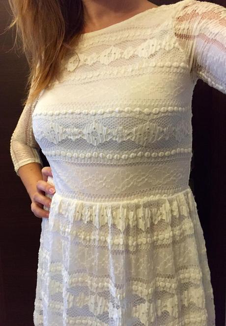 Čipkové šaty, S