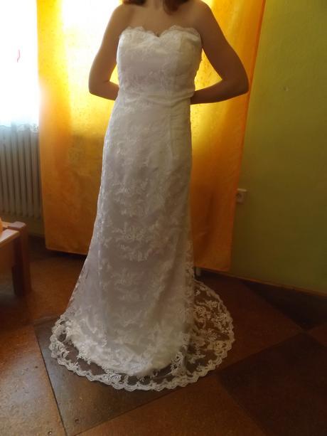 svadobné šaty veľ. 38-40, 38