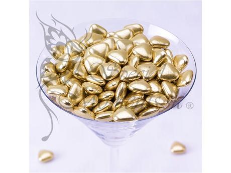 Čokoládové mini srdiečka,