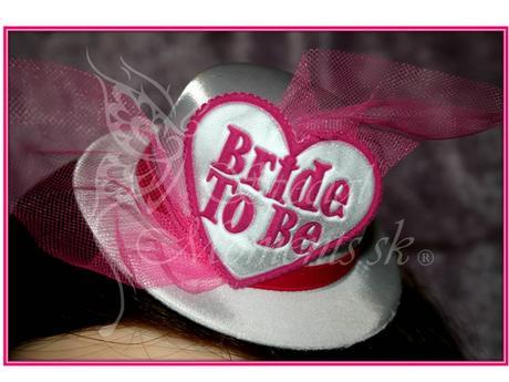 Klobúčik Bride to Be ,