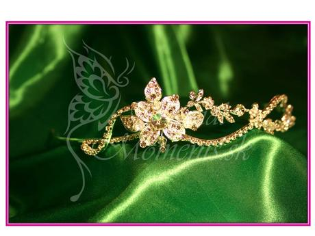 Kryštáľová korunka Kvet,