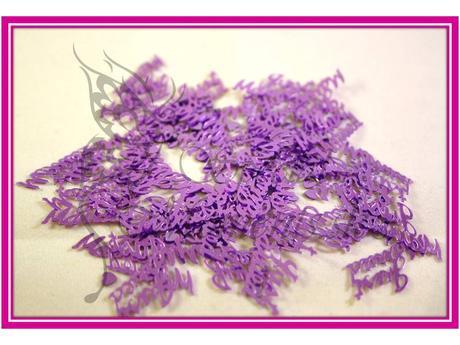 Stolové konfety Just Married - rôzne farby,