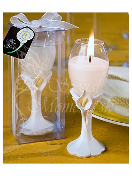 Sviečka Kala v pohári,